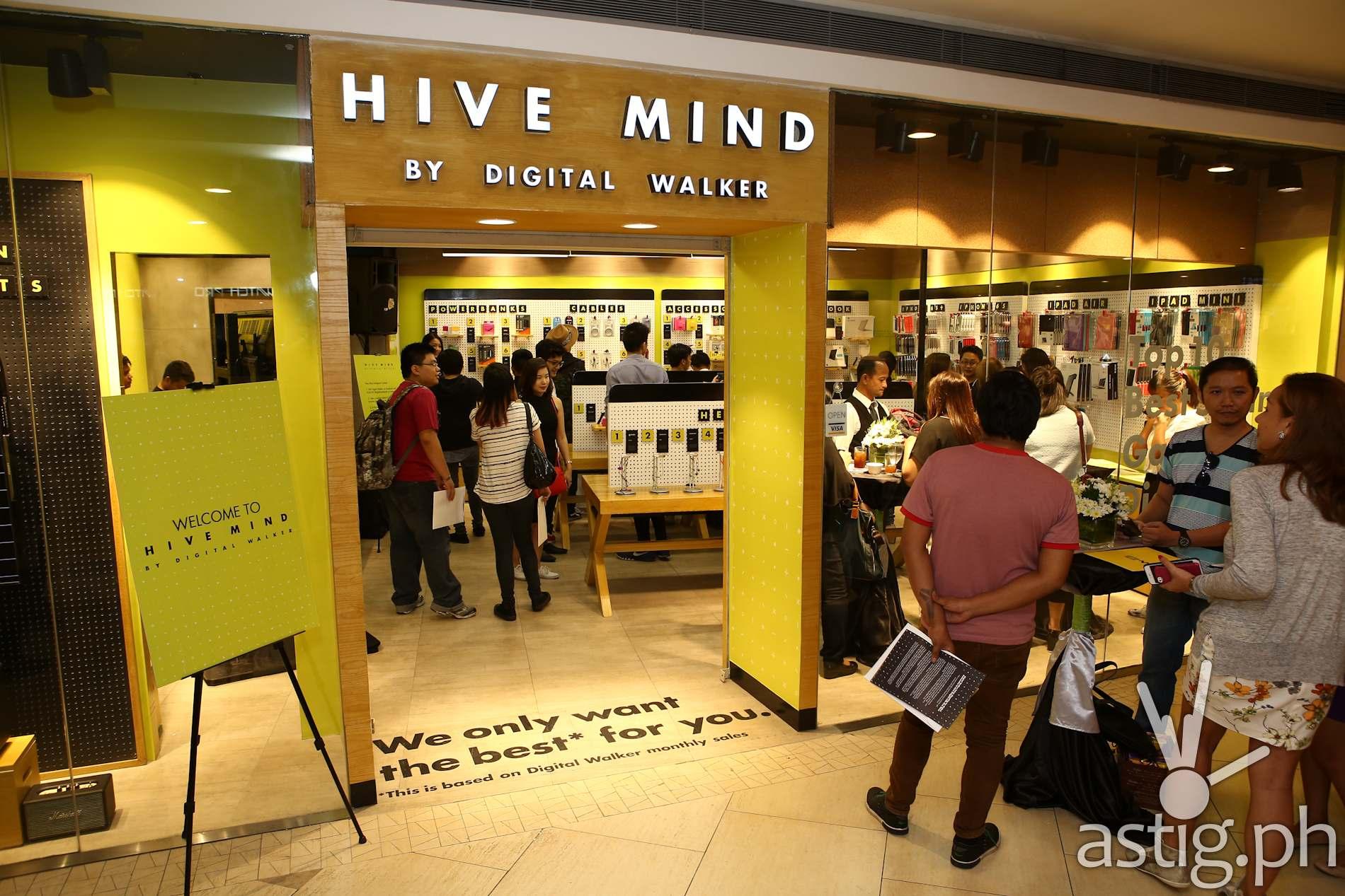 Hive Mind by Digital Walker is now open in TriNoMa