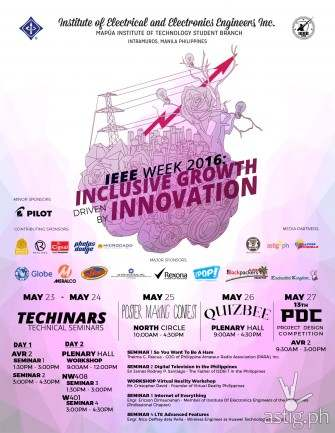 Mapua IEEE Week 2016: Inclusive Growth Driven by Innovation [event]