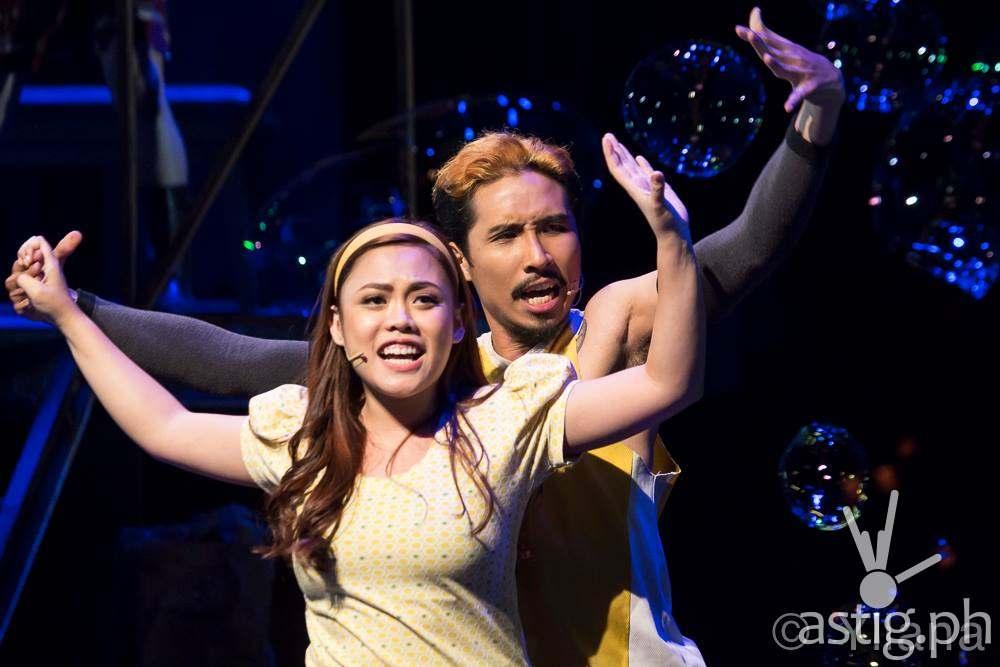 Kim Molina stars as Aileen in Rak of Aegis (photo by Raffy Yllana)