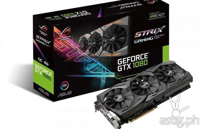 Strix GeForce GTX 1080 unveiled at ROG 2016