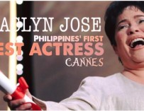 Jaclyn Jose wins as First Filipina Best Actress in Cannes Film Festival
