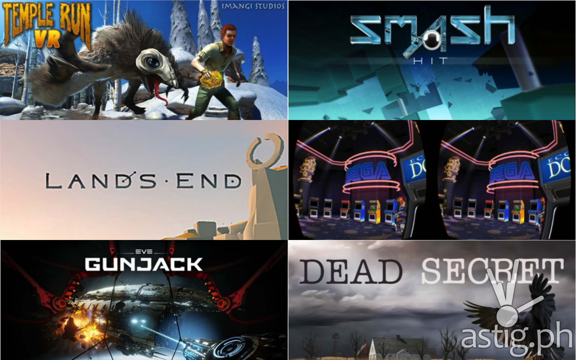 best games for the Samsung Gear VR