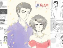 Duriam Chronicles: Duterte, Santiago are best friends in fan-made comic