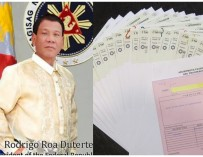 Presumptive President Duterte returns excess campaign funds to donors