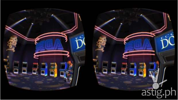 Oculus Arcade for the Samsung Gear VR