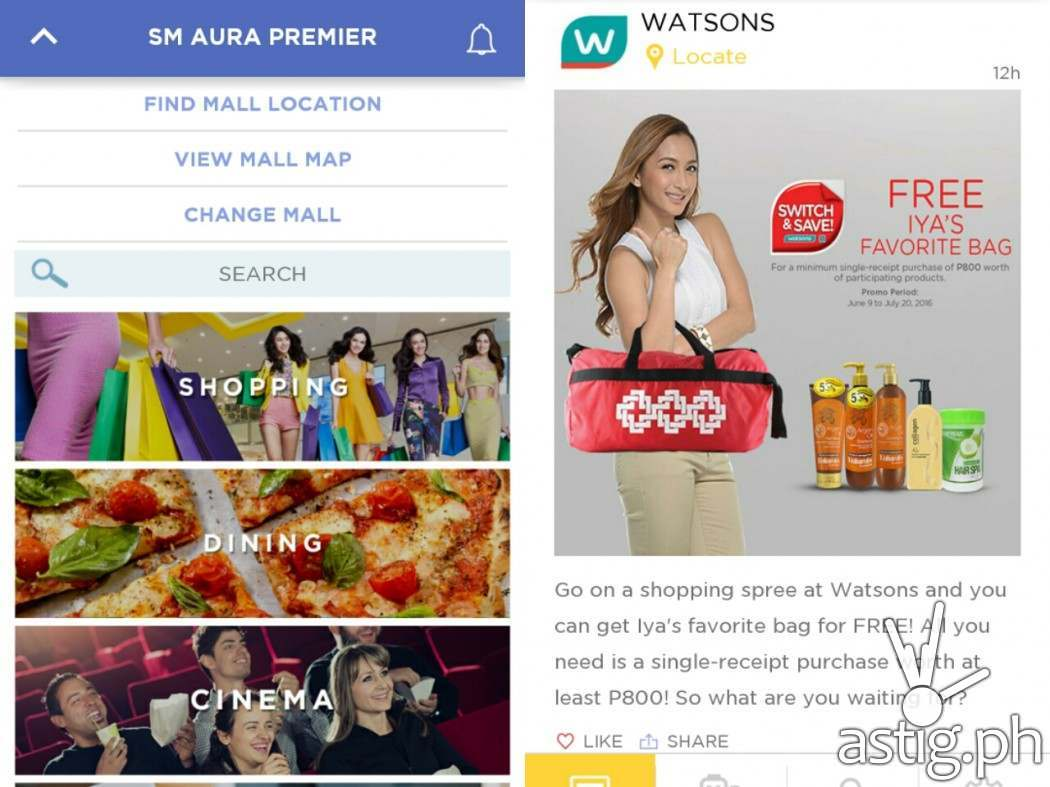 SM Supermalls mobile app has it all for you: discounts, shop finders, and movie schedules!