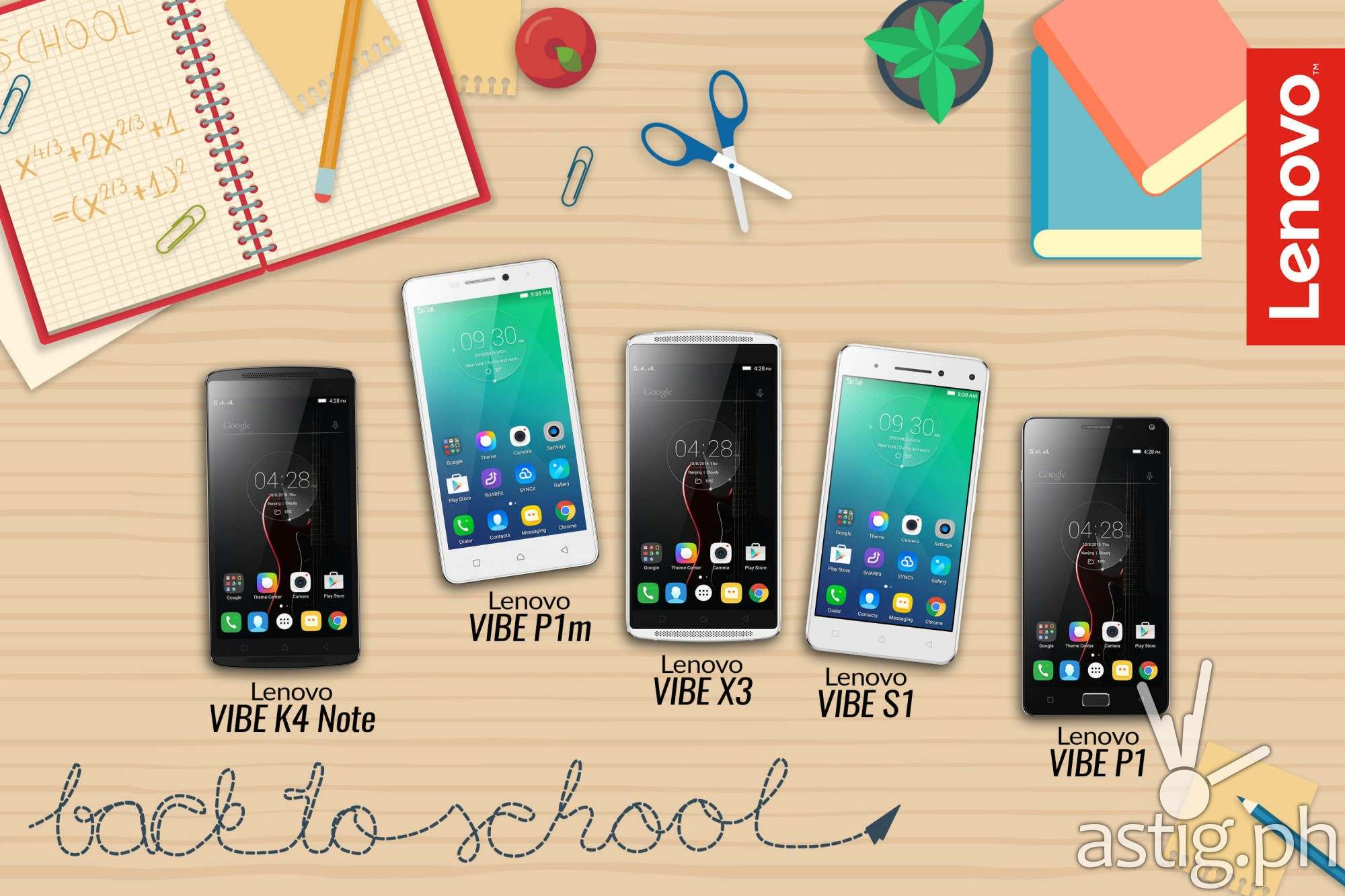 A Roll-Call of Lenovo's Best-for-School Smartphones
