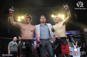 Baron Geisler - Kiko Matos fight ends in a draw