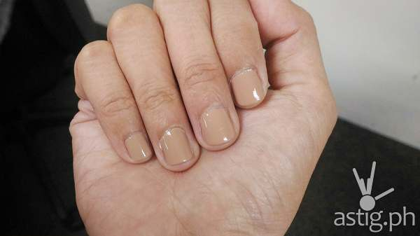 Celebrity Nails Manicure Essie polish