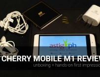 Cherry Mobile M1 review: unboxing + hands-on first impressions
