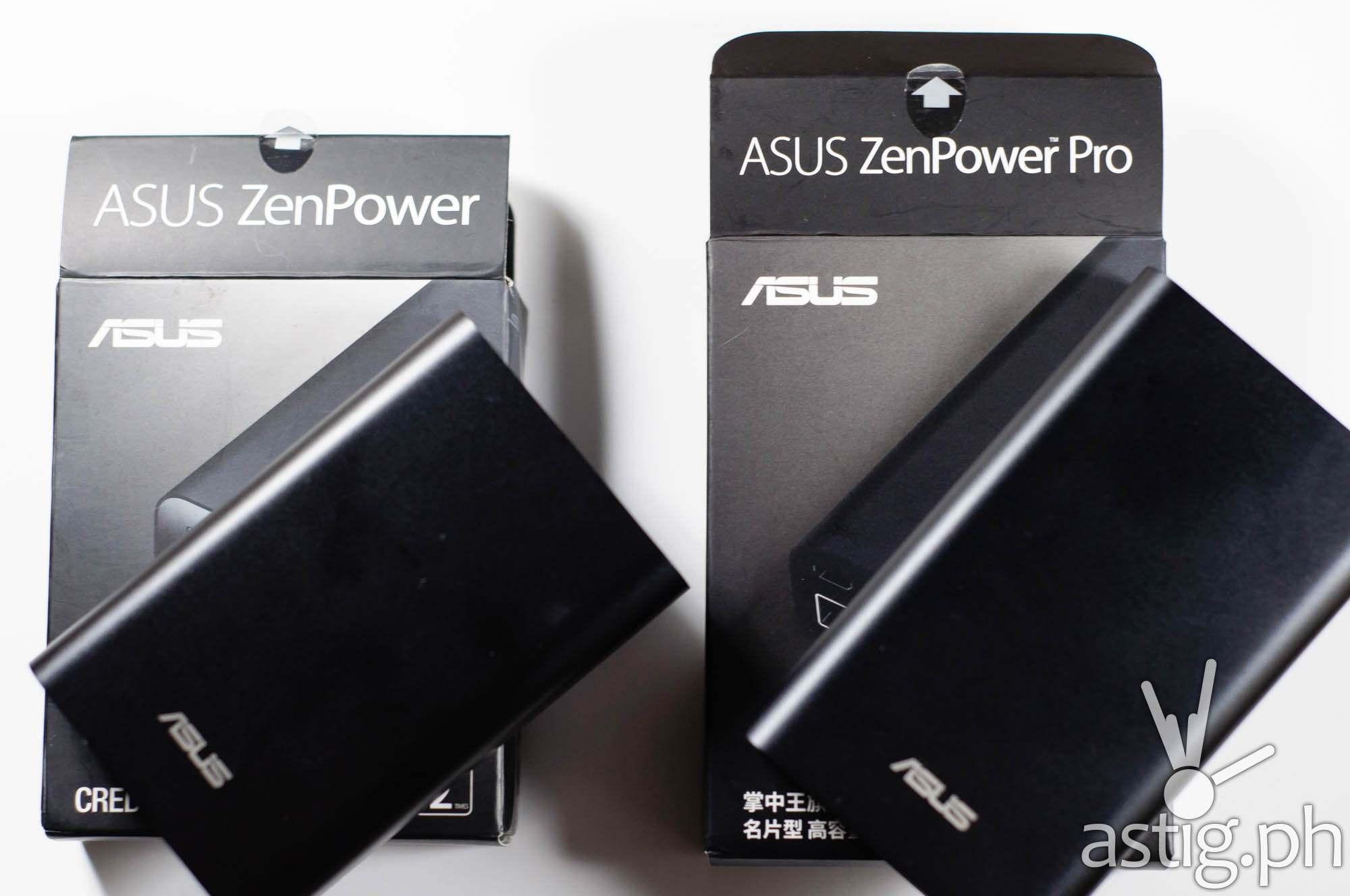 ASUS ZenPower Pro vs ASUS ZenPower
