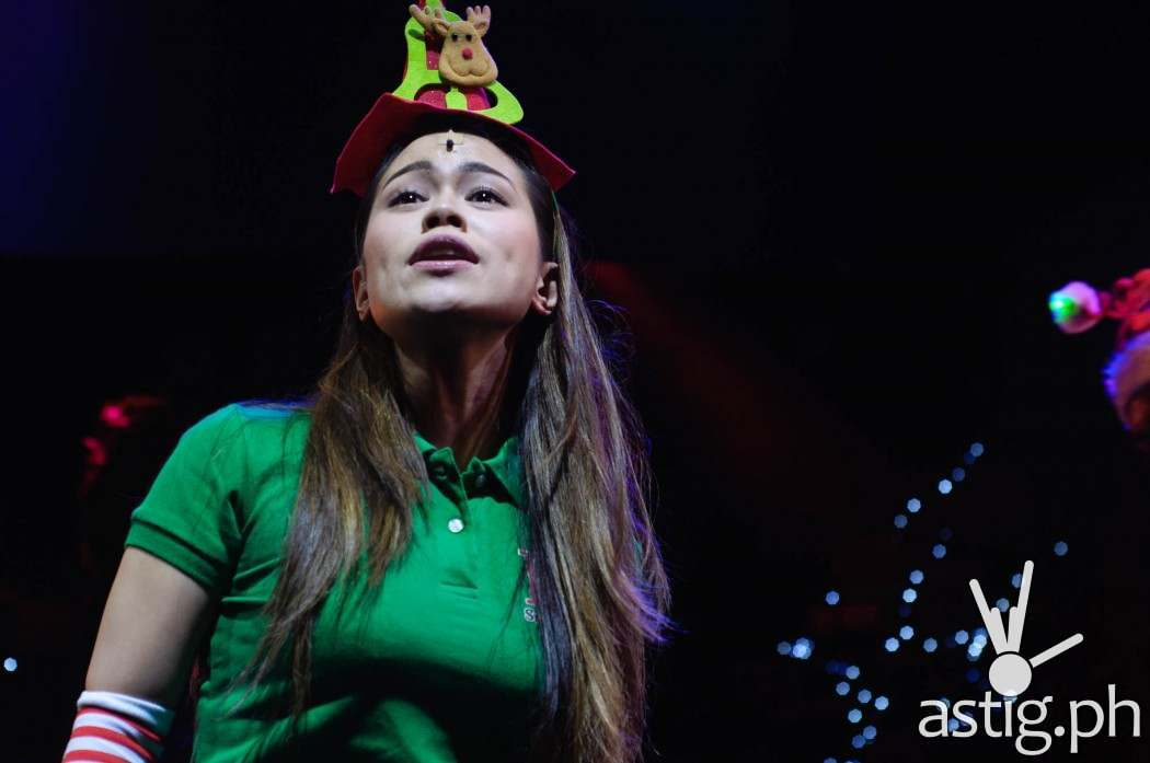 Tanya Manalang can easily belt out high notes as Aileen in Rak of Aegis, having performed the role of Kim in Miss Saigon