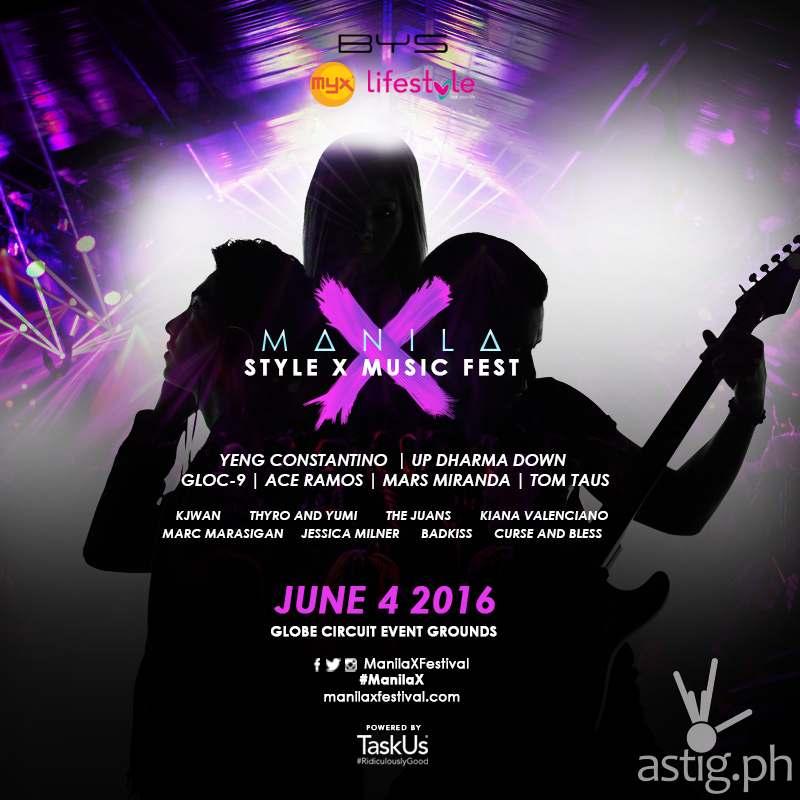 Manila X Festival Poster