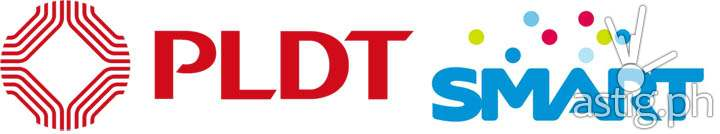 old logos of PLDT & Smart Communications