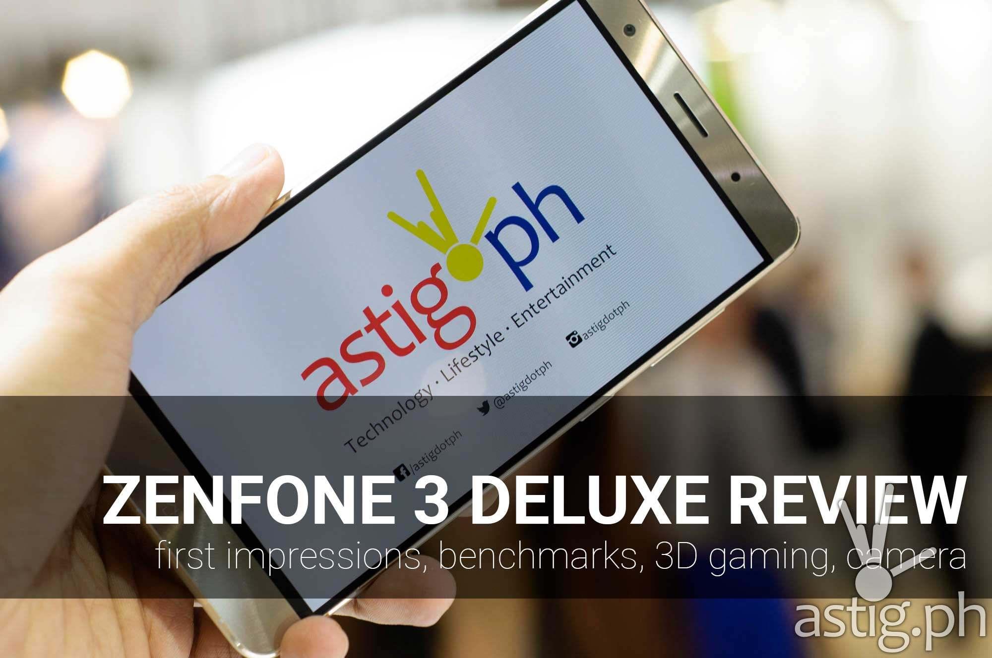 asus zenfone 3 deluxe review