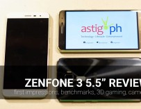 ZenFone 3 (ZE552KL) review: first impressions, benchmarks, 3D gaming, camera