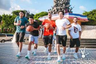 Lillard visit philippines for the Adidas Take On Summer Asian Tour