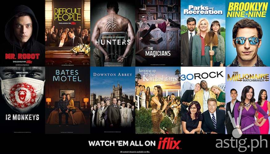 iflix NBC titles