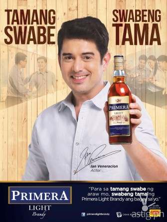 Primera Light Brandy Welcomes Brand Ambassador Ian Veneracion