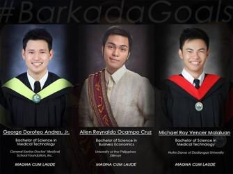 #Tropagoals: High school bestfriends all graduated Magna Cum Laude