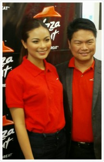 MS. Universe Philippines 2016, Maxine Medina graced the event with Mr. Raymund Nobleza