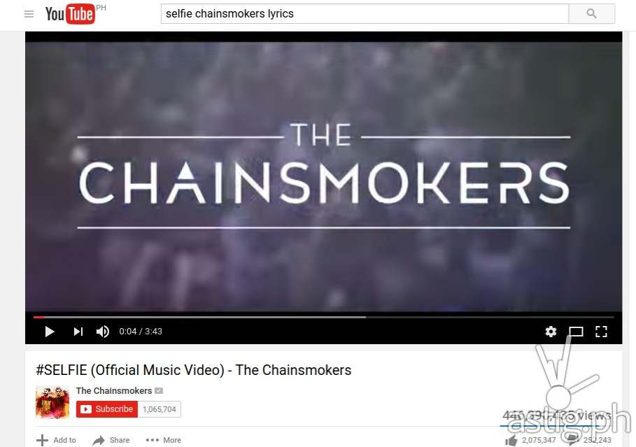 Chainsmokers - Fact # 2