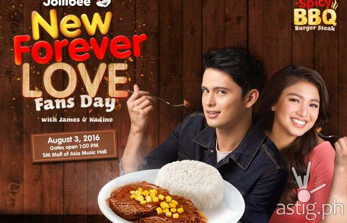 JaDine to celebrate #NewForeverLove with Jollibee at MOA [event]