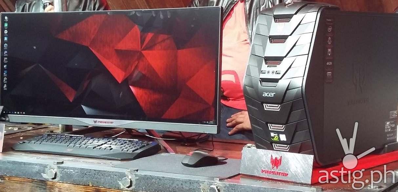 Predator gaming system pic 2