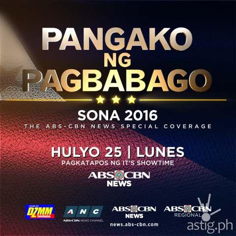 Rodrigo Duterte SONA 2016 ABS-CBN