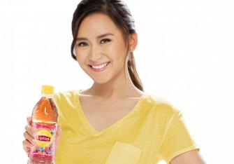 Sarah Geronimo is Lipton Ice Tea brand ambassador