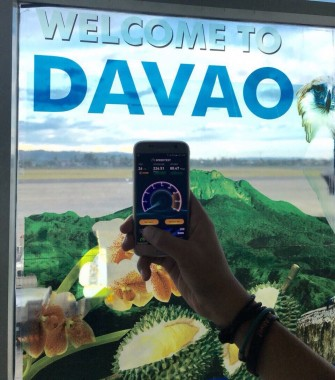 Davao City airport WiFi records 226 Mbps download, 126 Mbps upload speeds