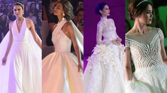 4 best modern wedding gown designs by Pinoys showcased at Marriott Manila