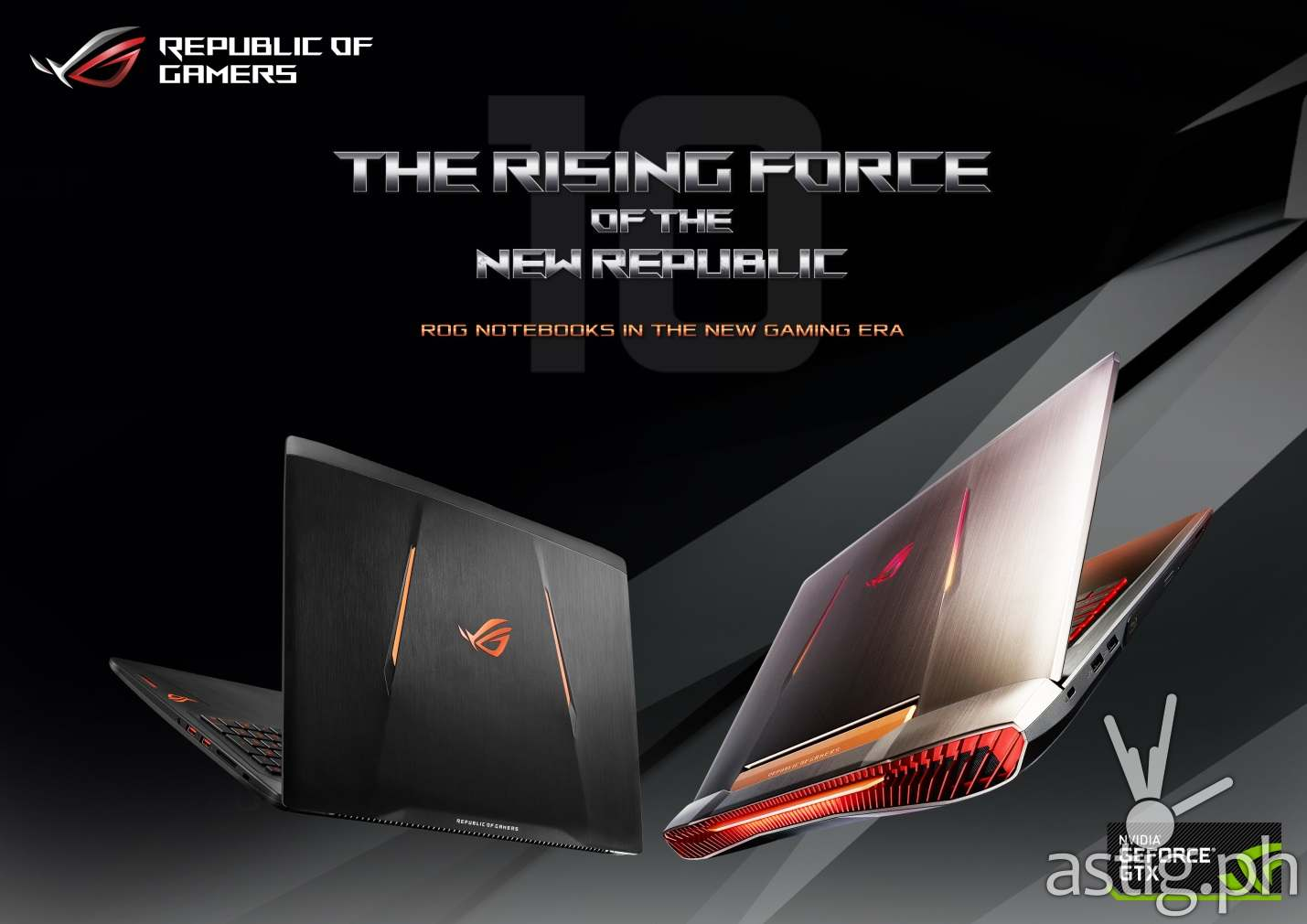 ASUS ROG G752 and ASUS ROG Strix GL502 gaming laptops
