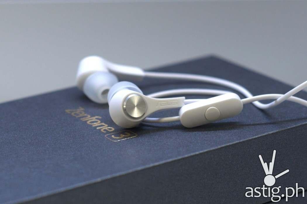 ASUS ZenFone 3 headset