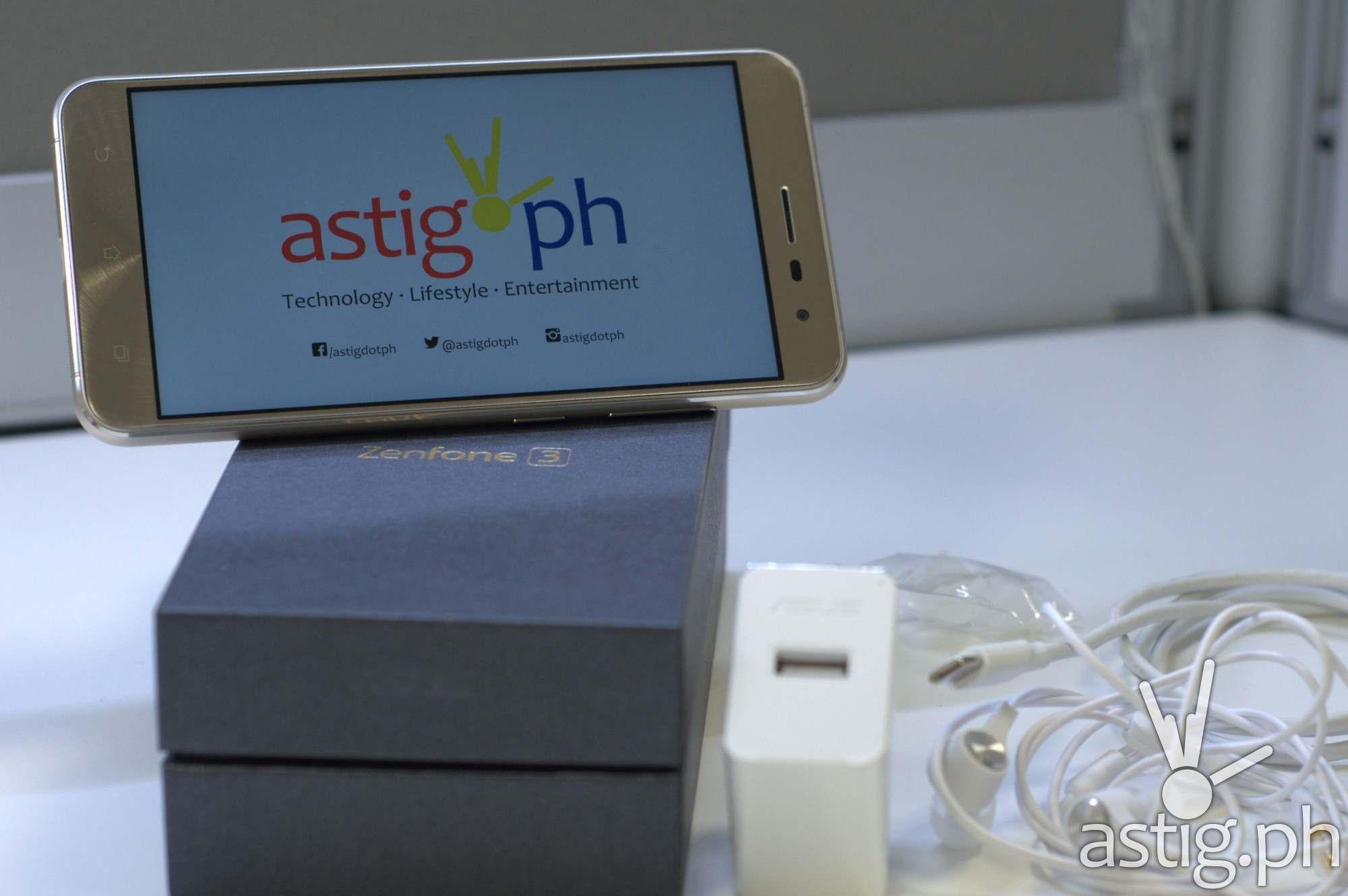 ASUS ZenFone 3 unboxing