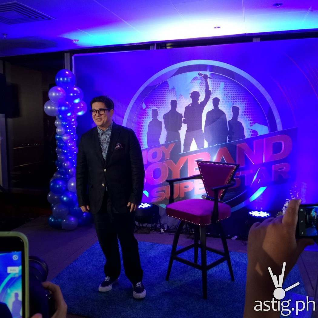 Aga Muhlach is the newest judge in Pinoy Boyband Superstar