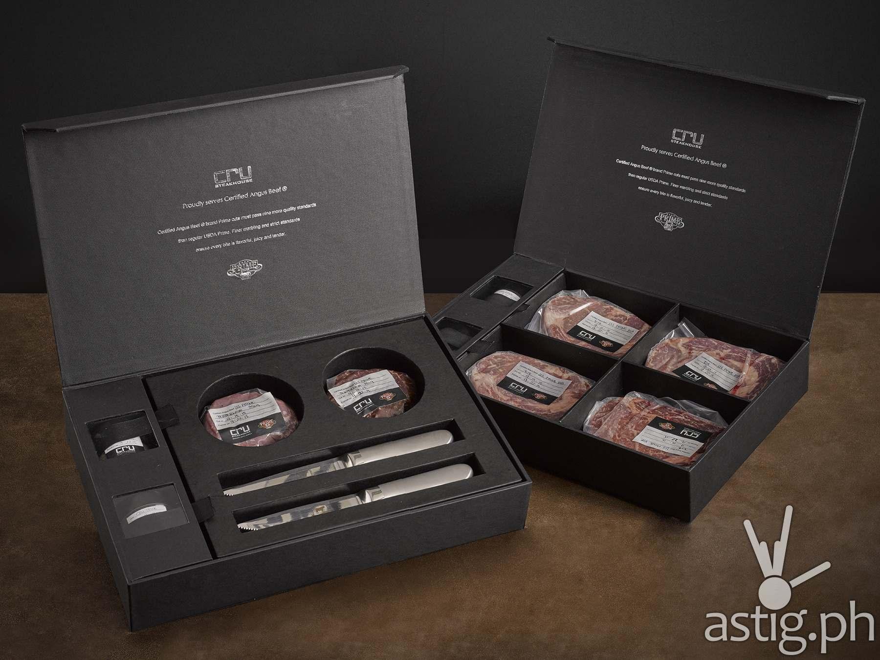 Cru steak Gift Box