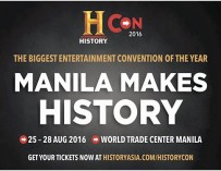 Manila Just Made History --- Welcome to #HistoryCon2016