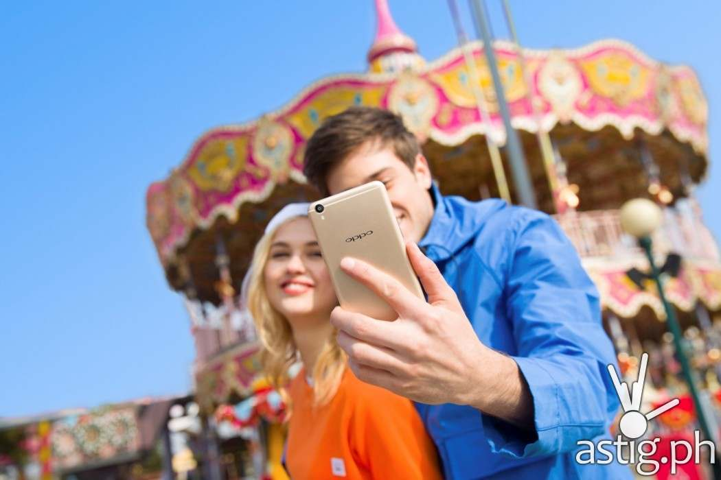 OPPO F1s comes with a 16 MP front-facing camera
