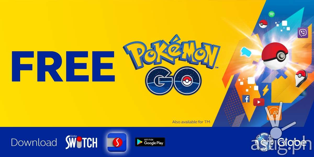 Pokemon Go lure drop party Ayala Malls