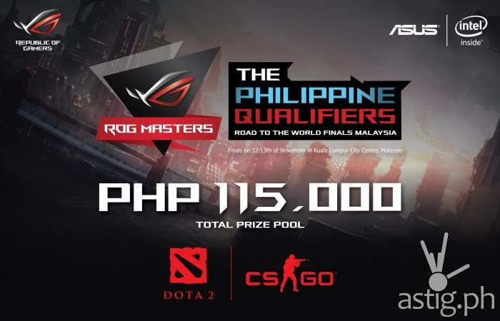 ROG Masters 2016 qualifiers now open to DOTA2, CS:GO players [event]