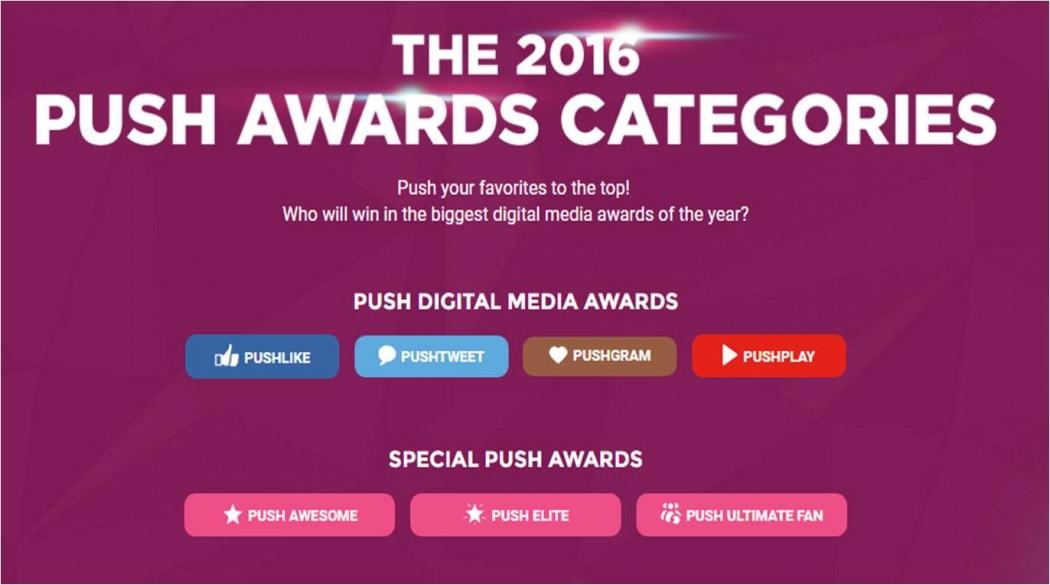 Push Awards Categories
