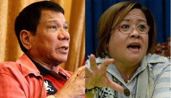 Duterte accuses Sen. de Lima 'immoral', 'adulterer'
