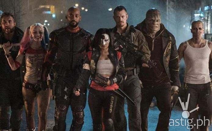 Suicide Squad:  Bad meets evil