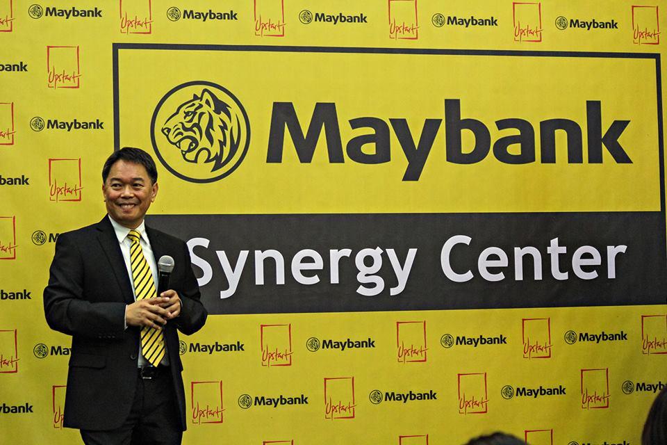 Eric Montelibano, Maybank's VP for Corporate Affairs