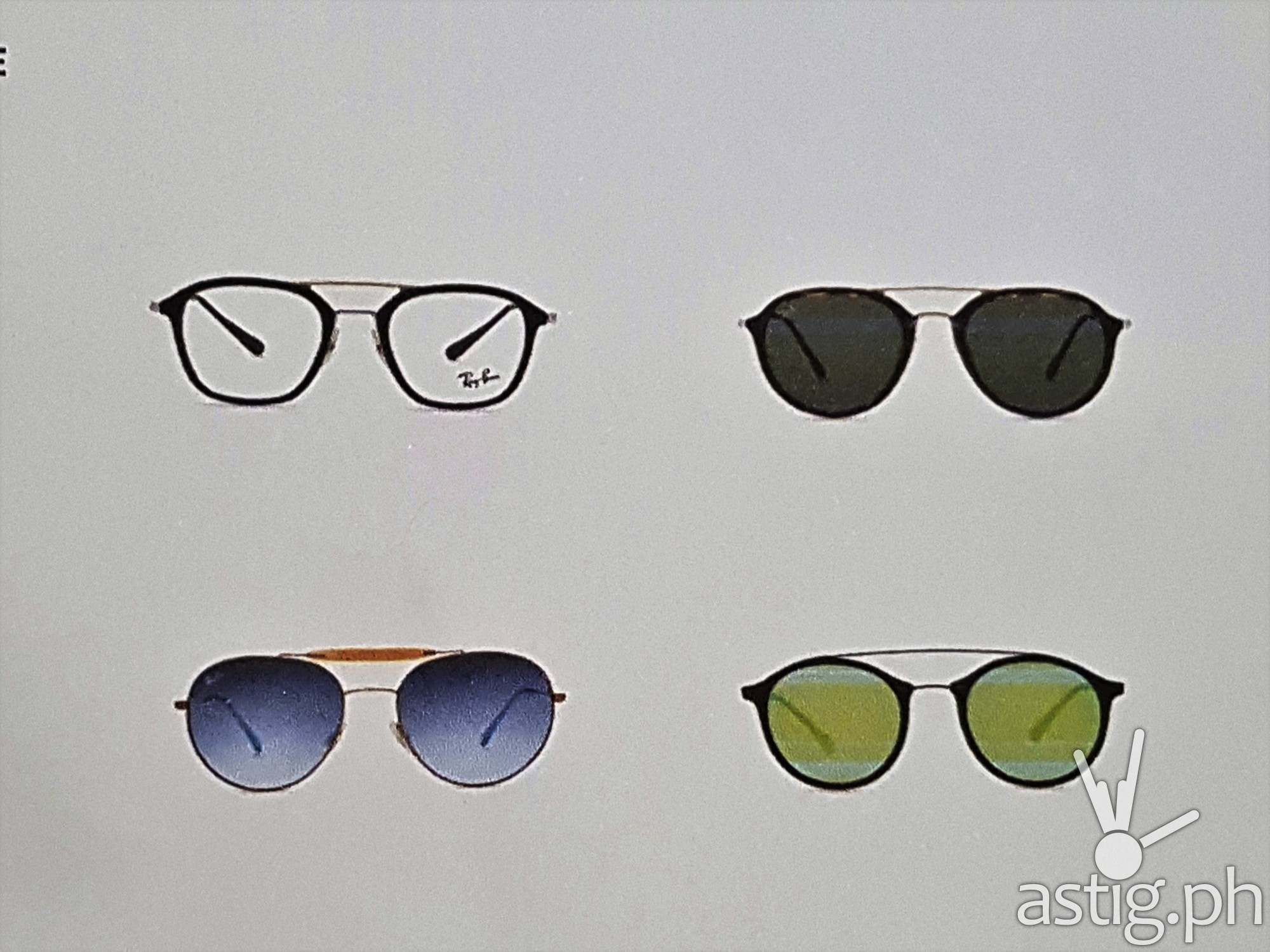 ray ban new shape round sunglasses  the flat lenses comes in three different shapes, namely round, oval and hexagonal. these shapes represents timelessness and is now featuring flat crystal