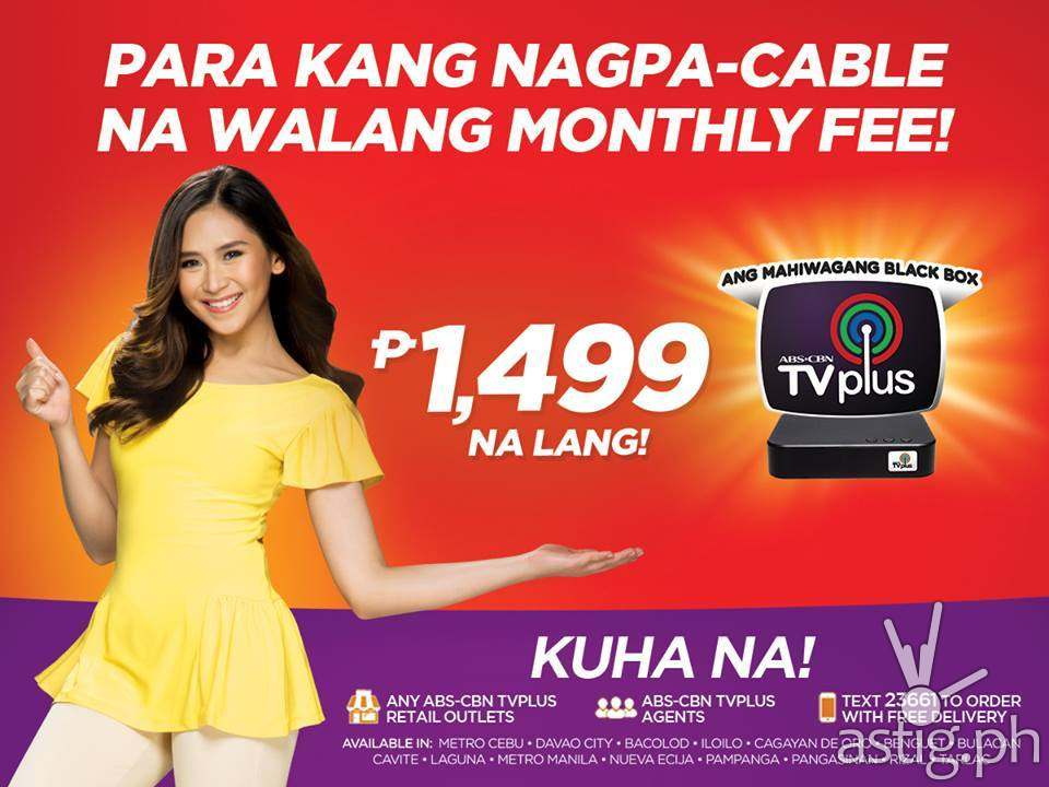 ABS-CBN TVplus drops price to 1499