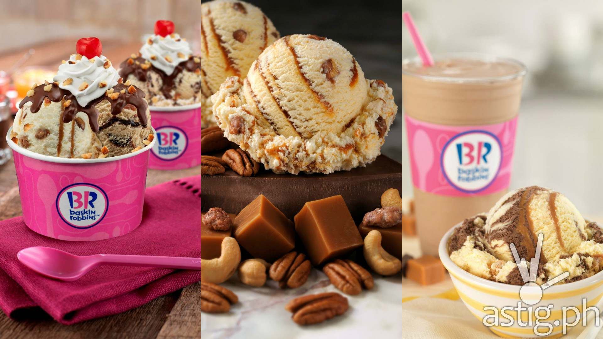 Baskin Robbins P31 scoops for everyone