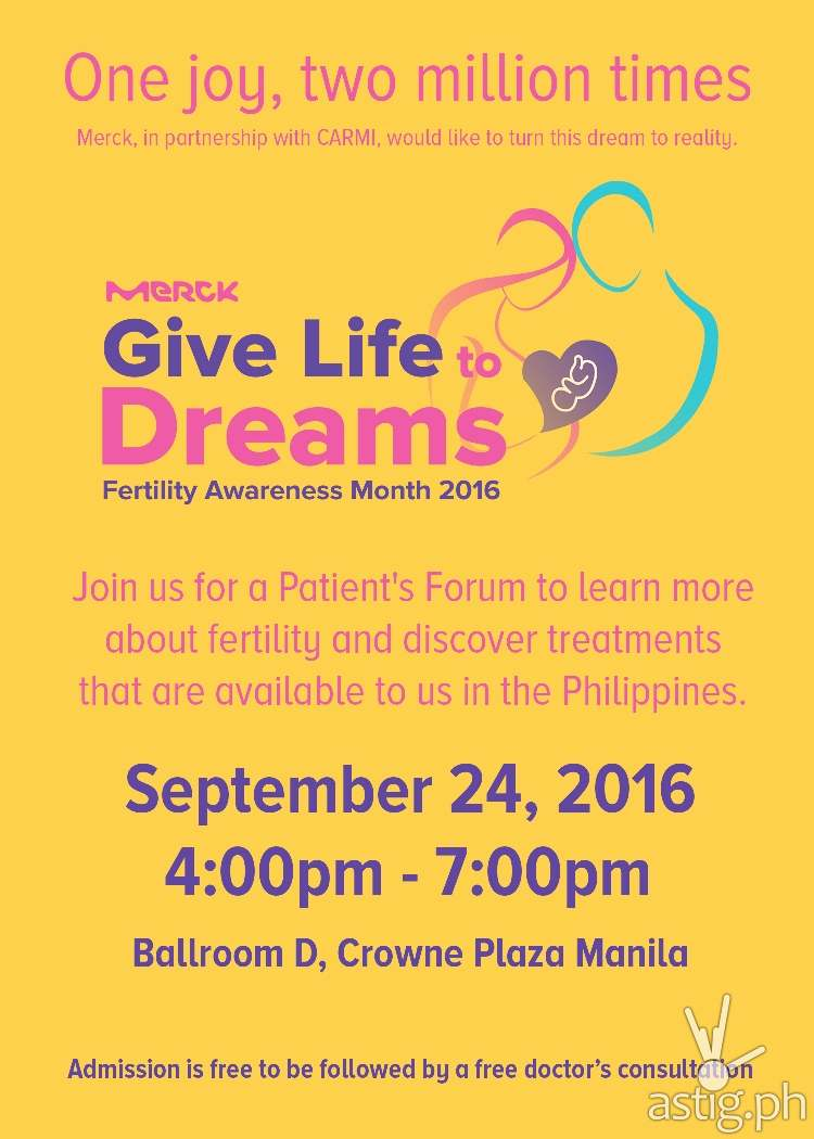 Give Life to Dreams Patient Forum Invite