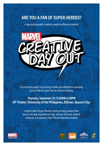 Marvel Creative Day Out brings Harvey Tolibao, Mico Suayan, Leinil Yu, Jorge Segovia to UP Diliman [event]